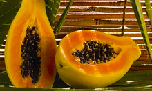 Remedio Natural de Papaya para Grietas del Talón